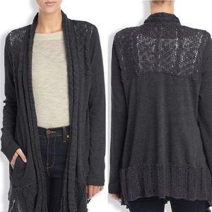 Lucky Brand | Crochet Cardigan
